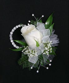 Single Rose Wristlet