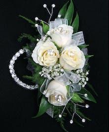 Glamorous Rose Wristlet