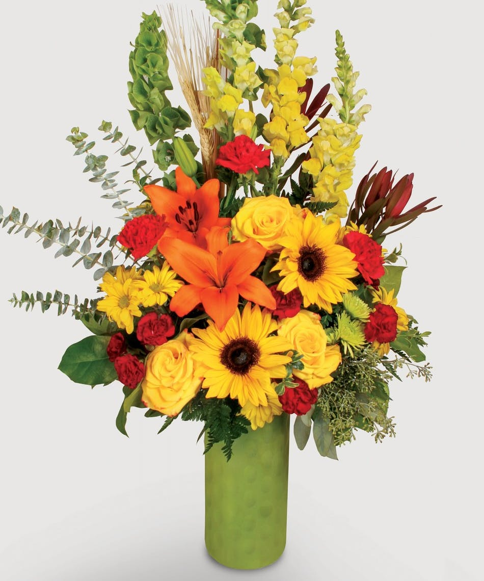 Stadium Flowers A Fall Romance Fall Favorite