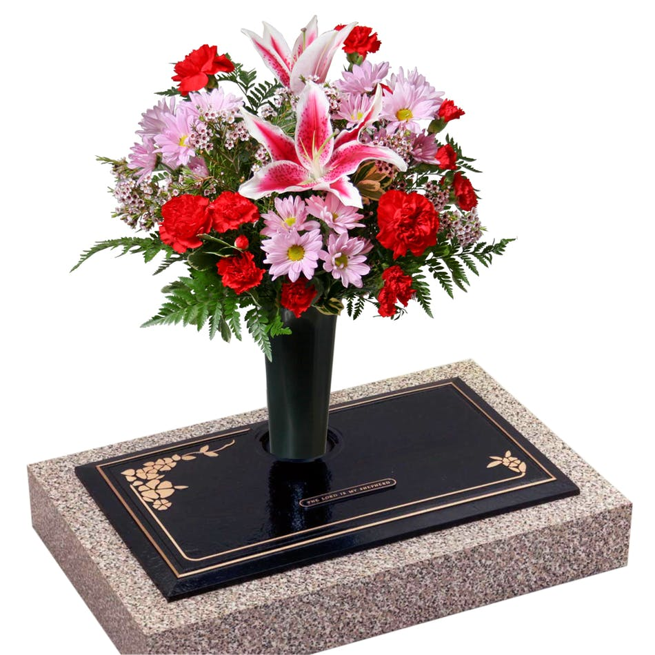 Graveside arrangement stadium flowers beautiful graveside arrangement to express remembrance order this design to be ploce at the graveside mightylinksfo