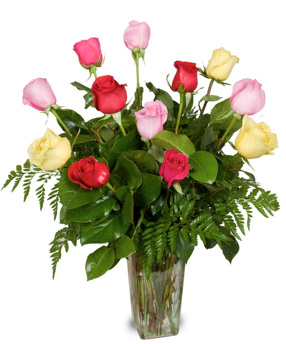 Mixed Roses- Stadium Flowers