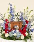 Patriotic  Memorial Display