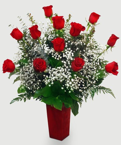 One Dozen Roses Everett & Lynnwood, WA - Same-day Delivery