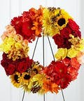 Sunset Tribute Wreath