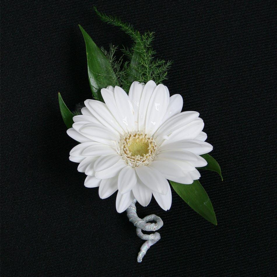 Gerbera Daisy Boutonniere Stadium Flowers