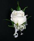 Rose Boutonniere - Glamorous
