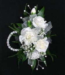 Carnation-Mini Wristlet
