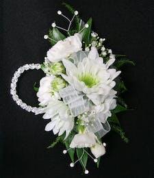 Mixed Floral Wristlet