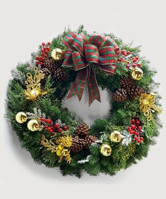 Joyous Christmas Wreath