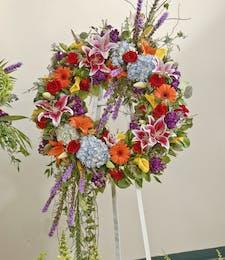 Vivid Garden - Wreath