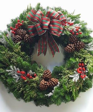 Northwest Christmas Wreath
