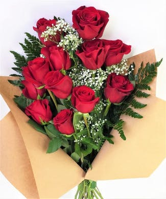 Presentation Rose Bouquet